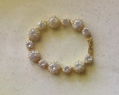 Sparkly Crystal and Quality Gold Plate Bracelet