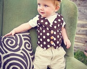 Summer Garden Boy's Vest:  2 Styles Available
