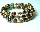 The Erin - Beaded Pearl Bracelet