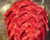 Elegant Red Velvet Ornament (last one)