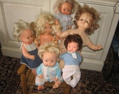 RESERVED Mix Group Of Dolls Horsman, Mattel, Fisher Price ,Ideal
