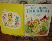 1975 The Fuzzy Duckling A Big Golden Book