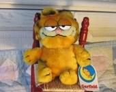 1978 Garfield Cat Sweet BeanBag 8 inches tall