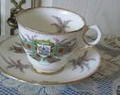 Tartan Series Virtue mine honour Maclean Tea Cup