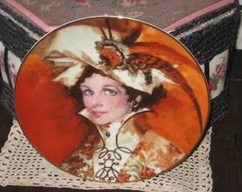 ALBEE Plate, Avon Collectible ALBEE Plate, Autum's Bright Blaze, Collectible Plates, Plates, Collectible Avon, Vintage Home Decor, /:)s*