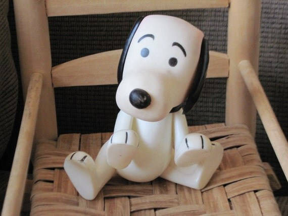 There is a Hold on Him for Now  POSABLE Cute Little Snoopy Dog