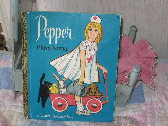Little Golden Book Pepper Plays Nurse