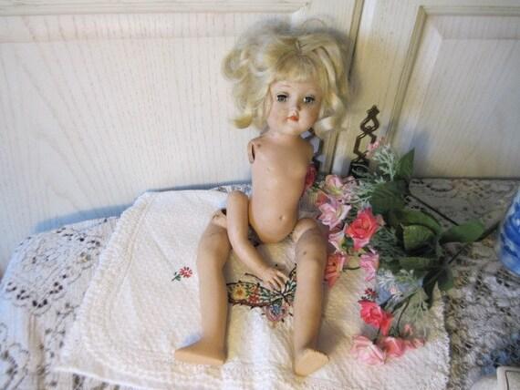 Ideal Nurse Curtiy Doll Tony Doll