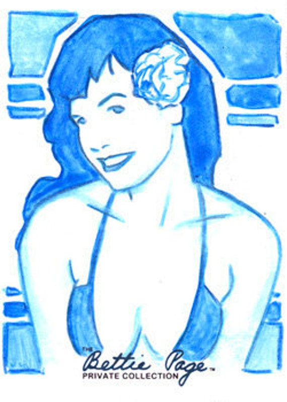 Bettie Page Private Collection Artist Return AR01