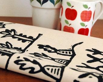 Tea Towel - Allotment