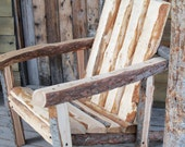 Montanarondack - The Hand Hewn Adirondack Chair of the West - WINTER CLEARANCE PRICE