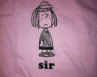 Sir - T Shirt - American Apparel