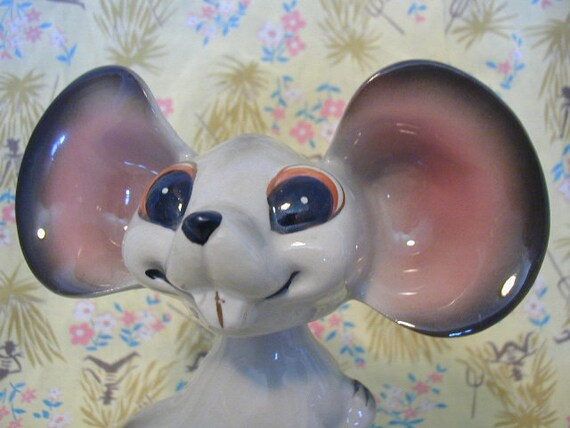 Really Cute Mouse Figurine Nodder Poseable Head