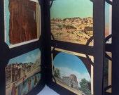 Vintage Postcard Album 1940s Unused postcards