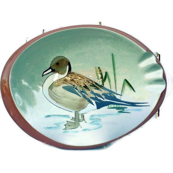Stangl Pottery Pintail Duck Ashtray Hunting Cabin