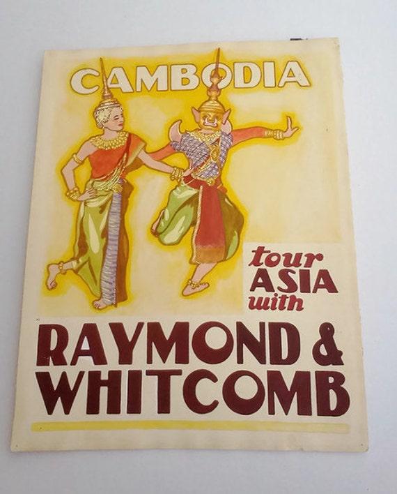 Art Illustration Original Advertising Graphics 1930s Poster Art