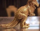 Tyrannosaurus Rex Brass Necklace