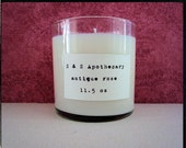 Antique Rose Soy Candle