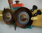 Tropical Dirty Birdie Upcycled Wall Hooks