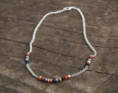 Aimée - Necklace with colorful beads