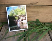 Note Card Set Of 5 Waterfall Photography Cards With Envelopes Unique Original Art Photography