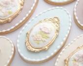 Victorian Cameo Cookies
