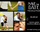 Save the Date Wedding Photo Announcement Printable