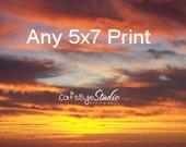 "5x7"" Size Cat's Eye Studio Print - Order Any print in the shop"
