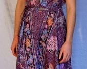 Vintage Floral BOHO Dress