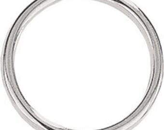 100 Split Ring Key Rings or Chain 1 inch 25mm