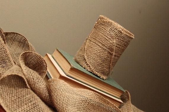 10 Yards of Burlap Ribbon / Garland / Wrap