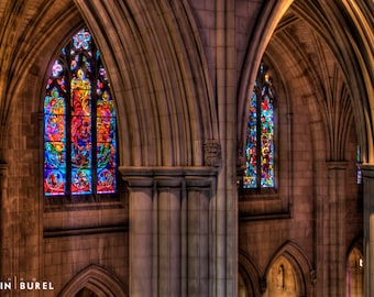 Washington National Cathedral stained glass windows
