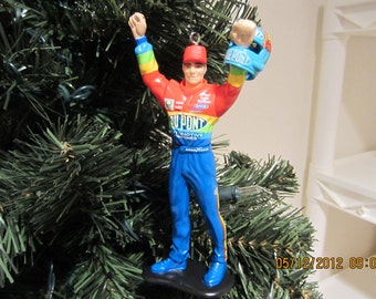 Jeff Gordon Nascar Christmas ornament many to choose from.