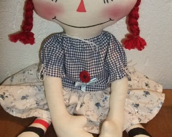 PDF Instant download Raggedy Annie Tutorial and Patterns of all variants