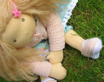 Pdf Instant download  DOLCE DOLLY Waldorf doll Pattern & Tutorial