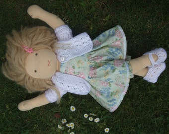 Pdf Instant download  DOLCE DOLLY Waldorf doll Pattern