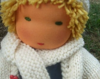 PDF Instant download Waldorf doll with movable arts Pattern