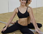 Leggings in black for Bikram yoga