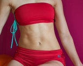 Bandeau in red for Bikram yoga