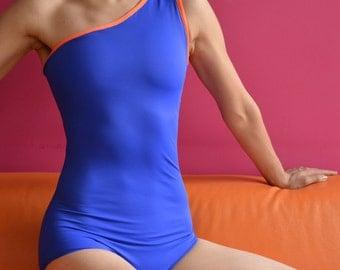 Leotard in blue for Bikram yoga