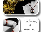 reserved listing for custom order for  Ella