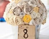 Fabric Flower Bouqet Centerpeice