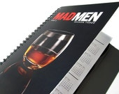 Mad Men 2013 - 2014 Daily Planner / Calendar UpCycled Agenda