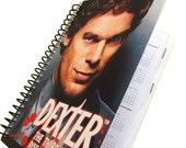 Dexter 2014 / 2015 Daily Planner / Calendar Up-Cycled (Multiple Cover Choices)