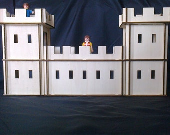 Wooden Castle Plywood Kit