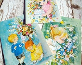 Vintage Birthday Cards 60s Vintage Cards Colors Cards