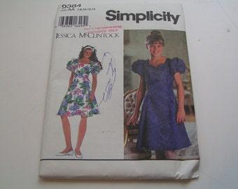 Simplicity Pattern 9384 Jessica McClintock Girl Dress