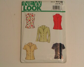 New Look Pattern 6598 Blouse