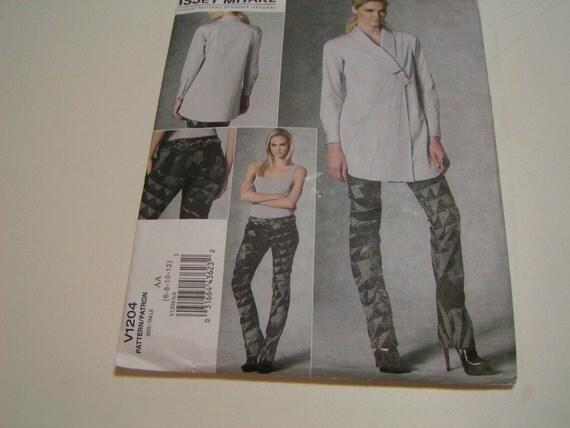 Vogue Pattern V1204 Designer Orignal Issey Miyake Misses Tunic Pants