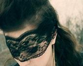 Black Lace Eye Piece